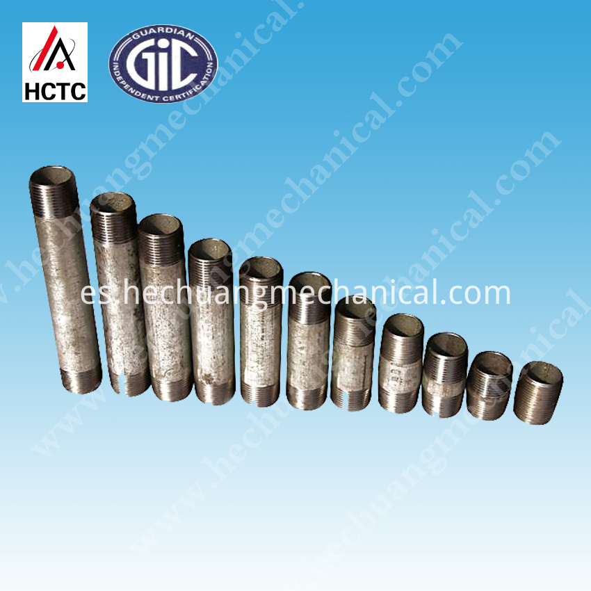 Sch 40 Galvanized Steel Pipe Nipples